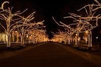 Подключение освещения зданий в Краснодаре