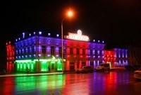 Наружное освещение: архитектурное освещение зданий, фасадов дома в Краснодаре