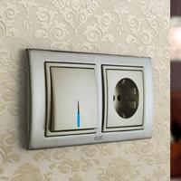 Установка выключателей в Краснодаре. Монтаж, ремонт, замена выключателей, розеток Краснодар.