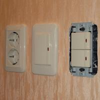 Монтаж, ремонт, замена выключателей Краснодар